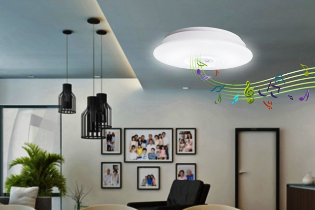 Stream Music via Nxled Ceiling Lamp